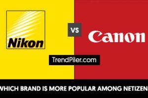 Nikon vs Canon - Who is more popular