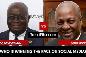 Nana Akufo-Addo vs John Mahama
