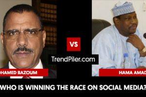 Mohamed Bazoum vs Hama Amadou