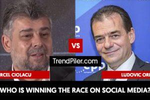 Marcel Ciolacu vs. Ludovic Orban