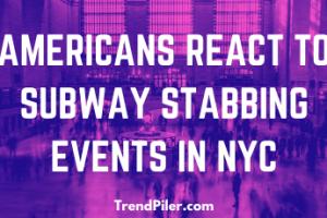 NYC Subway Stabbing